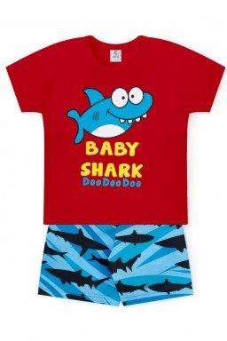 baby shark doo doo doo vermelho