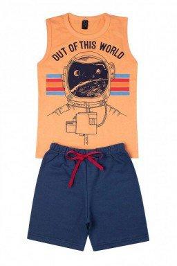 astronauta laranja
