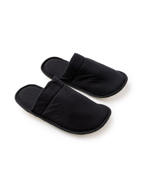 Pantufa Adulto Lisa 01 - 85.01.0001 Preto